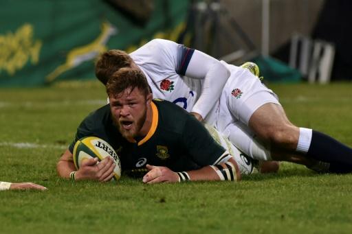 Rugby: l'Afrique du Sud renverse de nouveau l'Angleterre