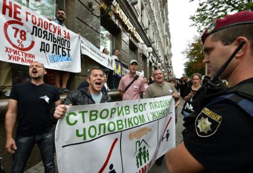 A Kiev, une gay pride sous haute protection face à l'extrême droite