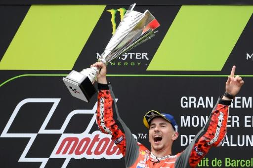 MotoGP: Lorenzo récidive devant Marquez et Rossi au GP de Catalogne