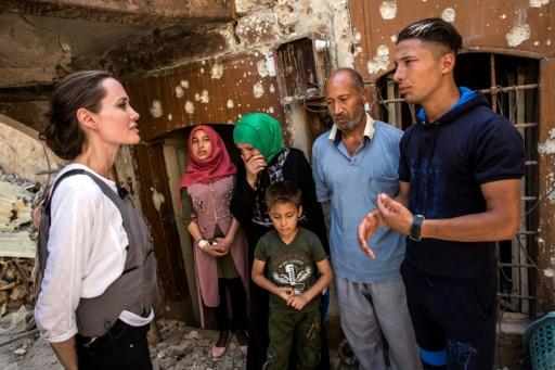 En Irak, Angelina Jolie plaide pour prévenir les conflits