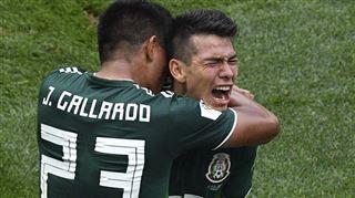 Mondial 2018- un Mexique survolté fait chuter l'Allemagne au terme d'un match spectaculaire 4