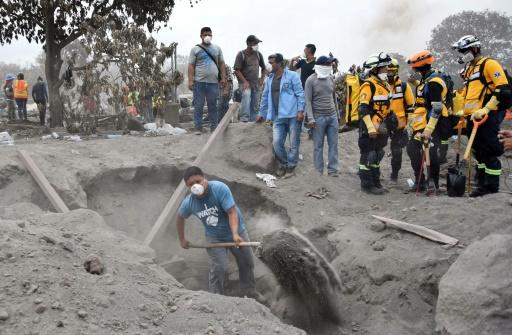 Volcan de feu au Guatemala: arrêt des recherches de près de 200 disparus
