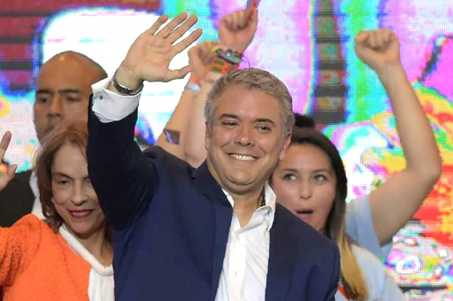 Colombie: quatre enjeux pour le nouveau président de droite Ivan Duque