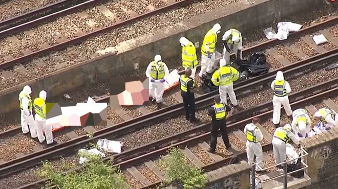 Trois morts dans un accident de train à Londres