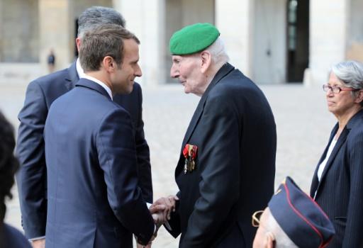 Cordier et Germain, deux des cinq Compagnons de la Libération encore vivants