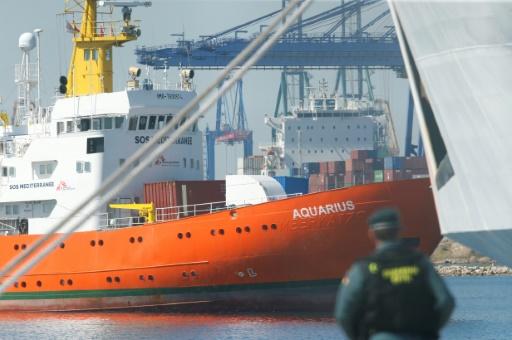 La moitié des migrants de l'Aquarius veulent l'asile en France