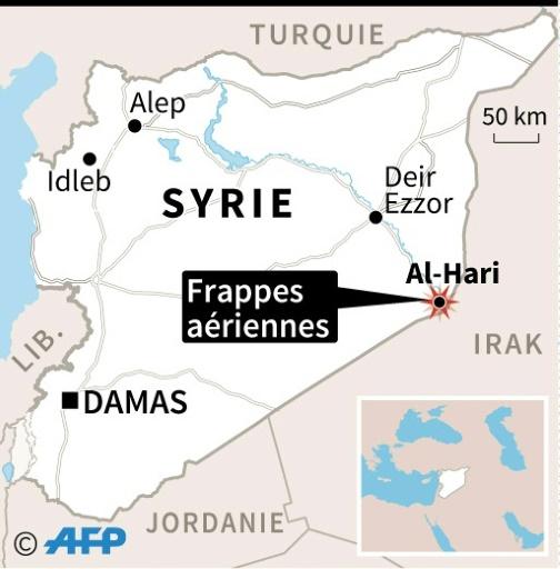 Syrie: 22 paramilitaires irakiens tués dans une frappe attribuée à Israël