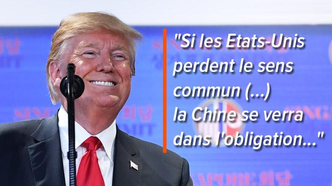 Nouvelles menaces de Trump: on est à deux doigts de la GUERRE COMMERCIALE entre les États-Unis et la Chine