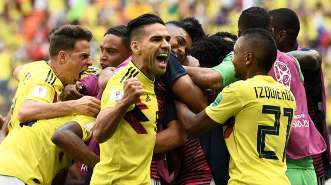 Colombie - Japon : un penalty et un carton rouge