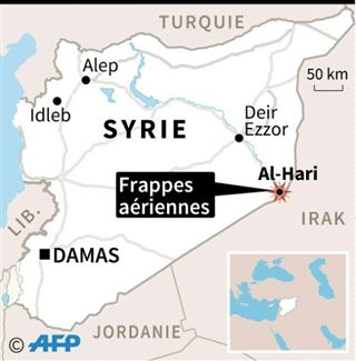 Frappe meurtrière à la frontière Syrie-Irak- ce que l'on sait