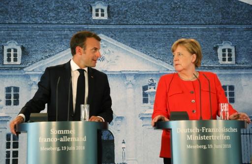 Macron et Merkel veulent renvoyer les migrants dans les pays d'entrée de l'UE