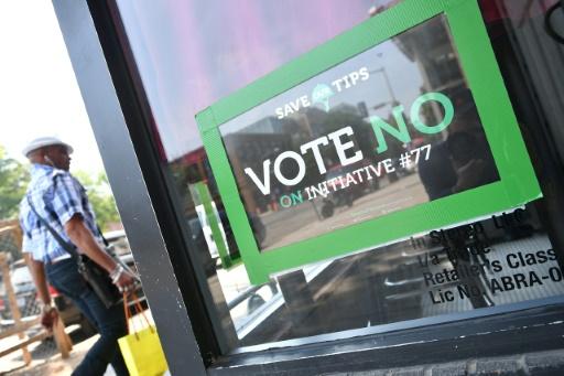 A Washington, vote pour un salaire minimum aux employés rémunérés au pourboire