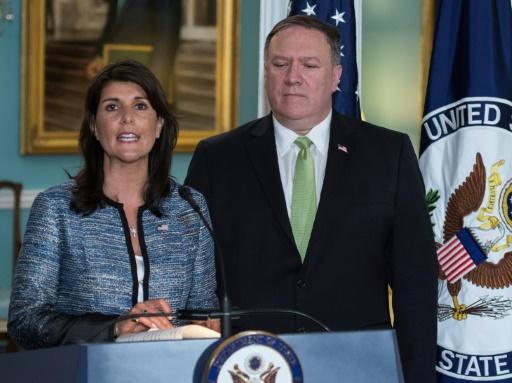Ne tolérant plus les critiques contre Israël, les États-Unis se retirent du Conseil des droits de l'homme de l'ONU