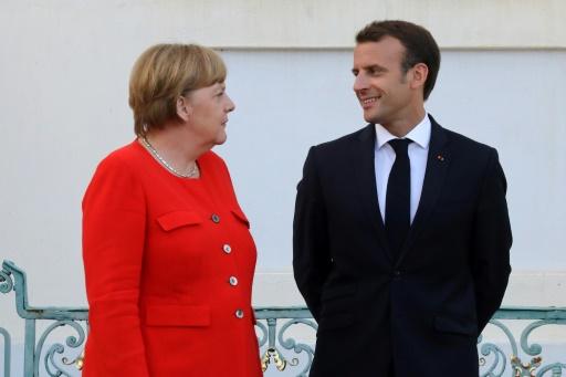 Macron obtient le soutien de Merkel pour un budget de la zone euro
