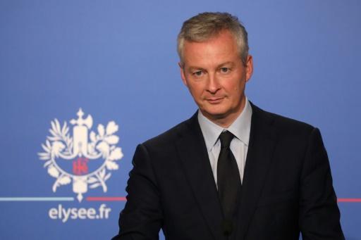 Bruno Le Maire évoque une croissance de 1,8% en France en 2018
