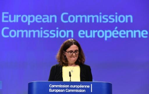 Acier: les mesures de rétorsion de l'UE contre Washington s'appliqueront le 22 juin