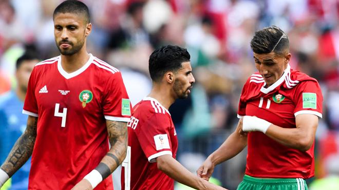 Mondial 2018 battu par le portugal le maroc est la premi re nation limin e rtl sport - Maroc coupe du monde 1998 ...