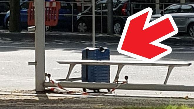 Valise suspecte sur le boulevard d'Avroy à Liège- il s'agissait d'une fausse alerte 1