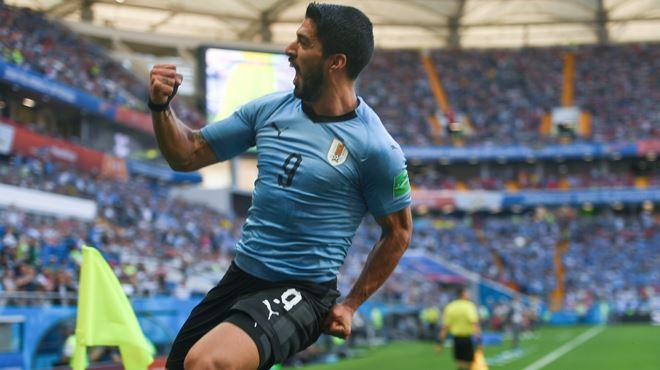 Mondial 2018- l'Uruguay bat l'Arabie saoudite et assure sa place pour les huitièmes de finale 1