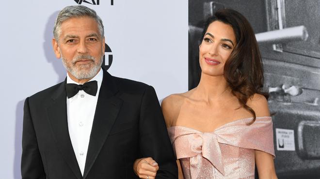 Enfants séparés aux Etats-Unis: les époux Clooney donnent 100.000 dollars pour les aider