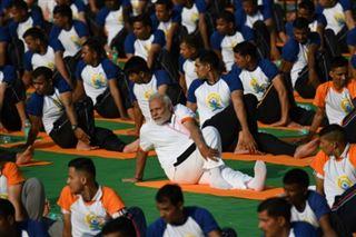L'Inde donne le coup d'envoi de la Journée internationale du yoga