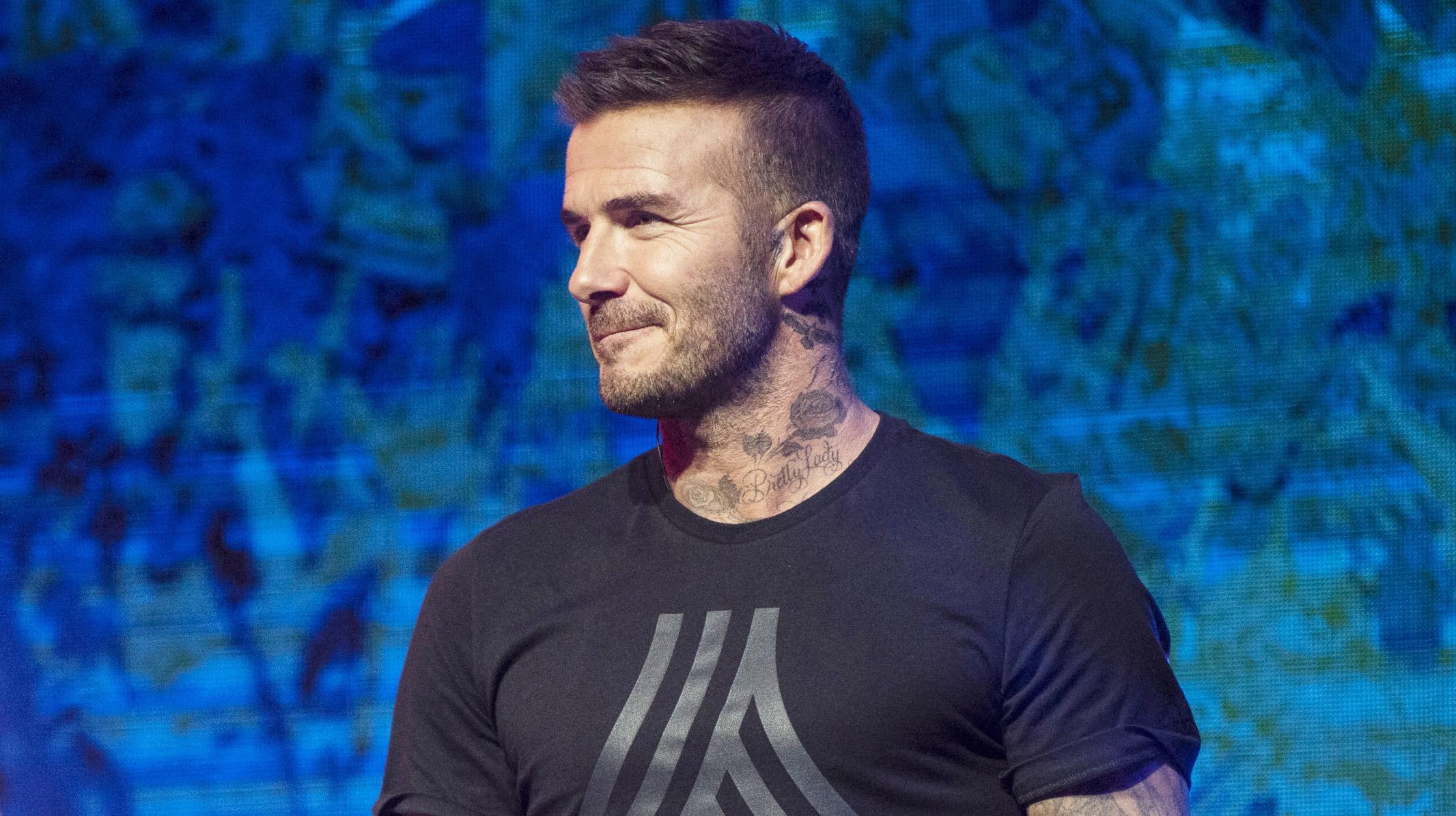 CM 2018 - David Beckham voit une finale Argentine-Angleterre