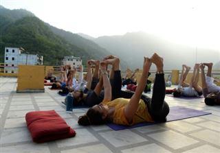 Des Beatles au wifi- Rishikesh, haut lieu mondial du yoga