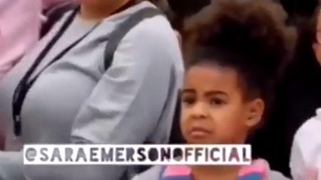 Blue Ivy embarrassée par ses parents Beyoncé et Jay-Z