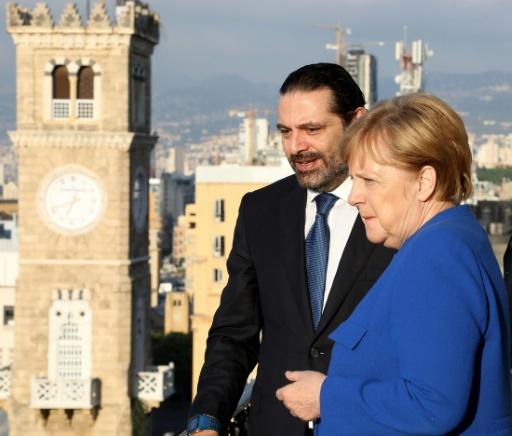 Merkel arrive au Liban, sur fond de polémique en Allemagne sur l'immigration
