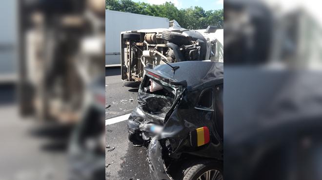 Accident sur la E42 à Mons: des embarras de circulation sont en cours en direction de Bruxelles