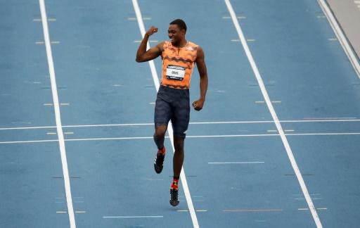 Athlétisme: MPM pour l'Américain Noah Lyles, qui remporte le titre national sur 100 m