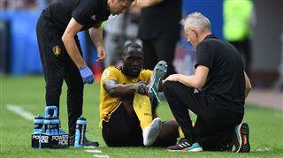 Romelu Lukaku touché à la cheville gauche- il ne jouera pas contre l'Angleterre 4