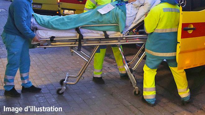 Deux voitures se percutent violemment à Crisnée: un blessé grave
