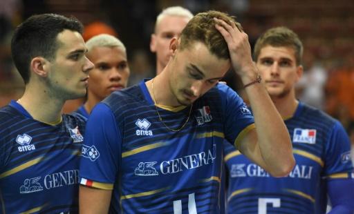Volley: fin de série pour la France, battue par l'Italie en Ligue des nations