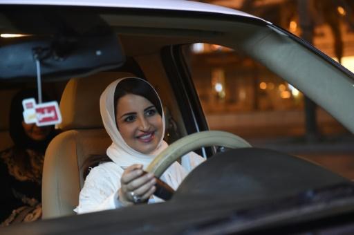 Arabie Saoudite: derrière son volant, Samar Almogren,