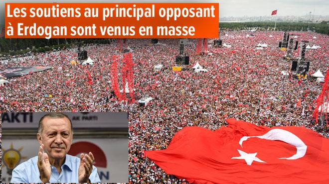 Recep Erdogan réélu — Turquie