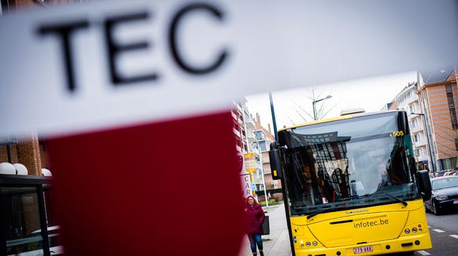 Prudence si vous prenez les bus TEC ce lundi: des perturbations prévues