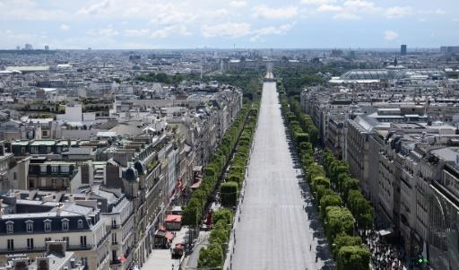 Les Champs-Élysées transformés en cinéma le 1er juillet