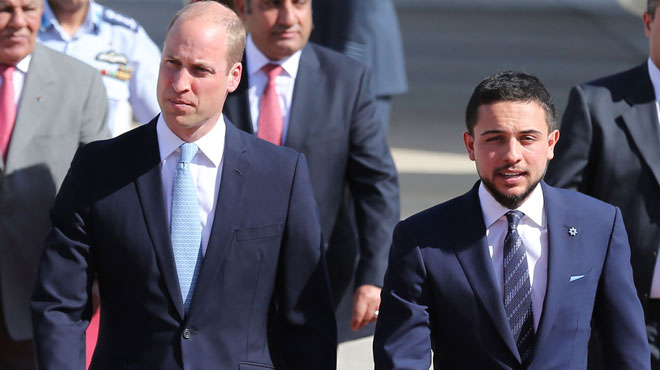 Prince William en Jordanie — Photos