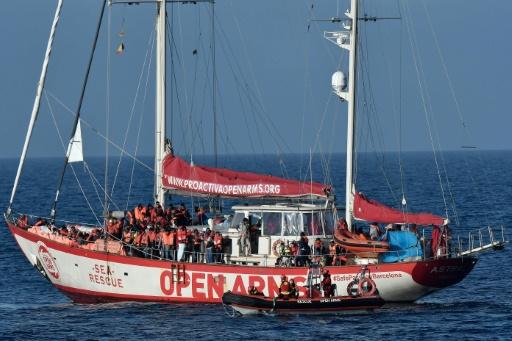 Une ONG espagnole dénonce le refus de Rome de la laisser porter secours à des migrants