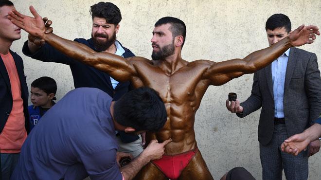 Musculation, culture du corps et quête de la beauté ultime: à Kaboul, le bodybuilding est partout (photos)