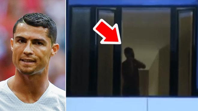 Cristiano Ronaldo supplie les supporters iraniens de le laisser dormir