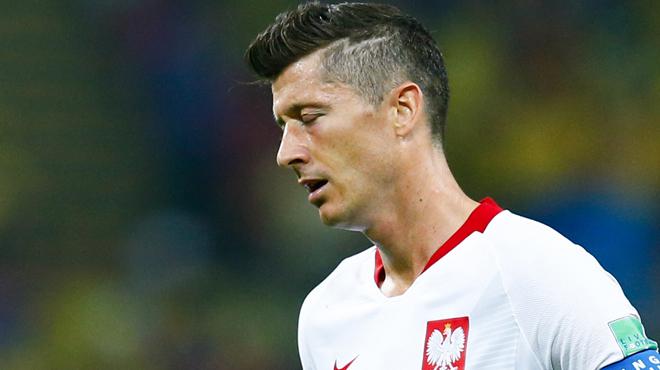 Lewandowski s'en prend à ses partenaires — Pologne
