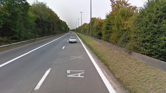 Dramatique accident sur la E19 à Hensies: une collision entre deux camions fait un mort