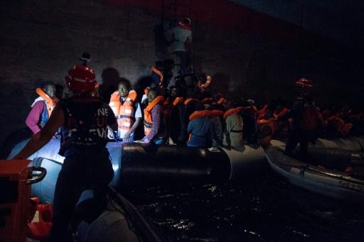 Un porte-conteneurs Maersk bloqué au large de la Sicile avec une centaine de migrants