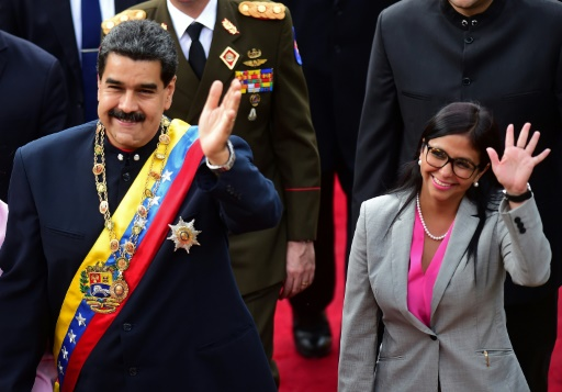 Venezuela: la vice-présidente Delcy Rodriguez parmi les 11 personnalités sanctionnées par l'UE