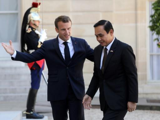 Thaïlande: Macron souhaite le