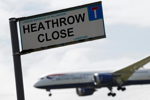 Les députés britanniques approuvent l'extension de l'aéroport d'Heathrow