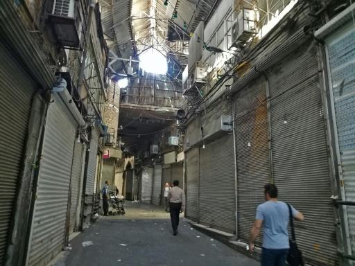 Rohani appelle à l'unité, deuxième jour de grève au Bazar de Téhéran