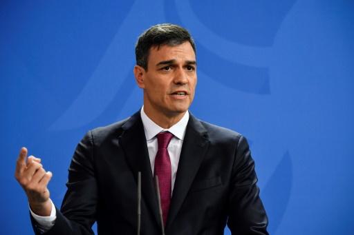Pedro Sanchez appelle les Catalans à